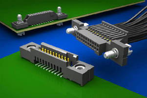 Board Interconnects offer screw-down option.