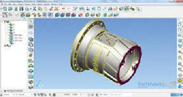 3D CAD for CAM Software includes nesting functionality.