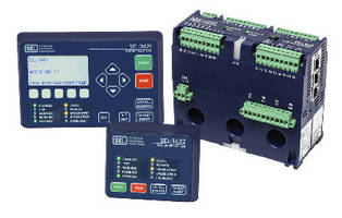 Motor Management Relay includes arc-flash light sensor.