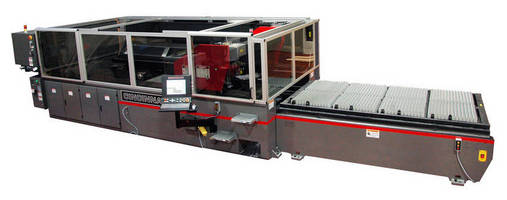 CO2 Laser Cutting System is designed for high throughput.