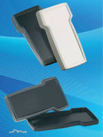T-Shape Enclosures protect handheld electronic devices.