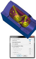 Feature-Based CAM Software optimizes surface finish.