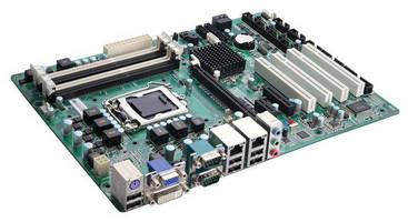 Industrial ATX Motherboard serves DVR, NVR, and signage markets.