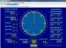 Weather Monitoring Software translates into multiple languages.