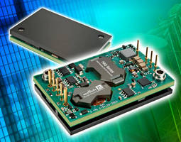 Isolated DC/DC Converter has 150 W power output rating.