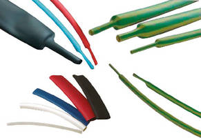 Heat Shrink Tubing offers 2:1 and 3:1 shrink ratios.