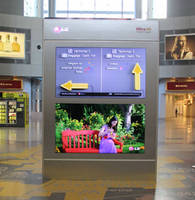 Digital Signage Display delivers immersive viewing experience.