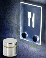 LED Integrated Standoffs enhance signage and displays.