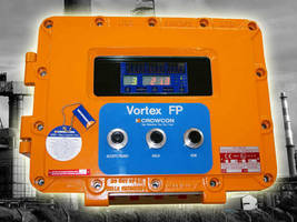 Control Panel monitors gas detectors in Zone 1/2 hazardous areas.