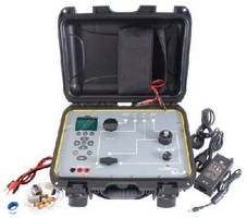 Pneumatic Calibrator features dual pressure systems.