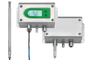 Humidity/Temperature Transmitter operates in hazardous areas.