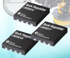 COT Synchronous Buck Converters reduce size of designs.