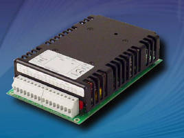 DC/DC Converters deliver 120 W of power.