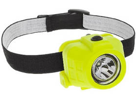 Explosion Proof LED Headlight offers hands-free operation.