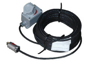Explosion Proof Extension Cord features twist lock receptacle.