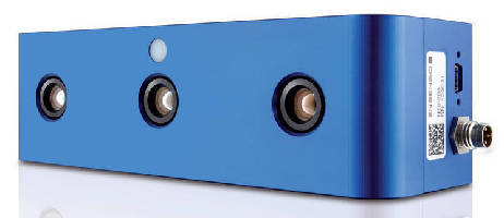 Stereo 3D Camera captures unstructured surfaces.
