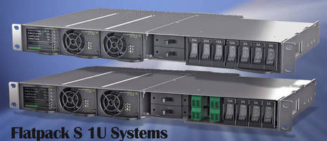 Configurable 48 Vdc Power Source serves telecom industry.