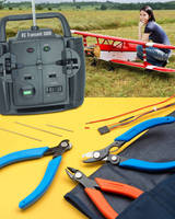 RC Model Aviation Tool Kit provides 3 hand tools in one pouch.