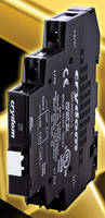 DIN Rail Mount Solid State Relays offer 3 A AC and DC outputs.