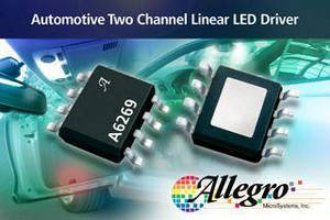 LED Driver IC serves automotive interior lighting applications.