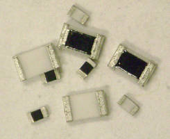 Chip Resistors offer resistance values up to 10 Gohms.