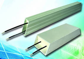 Aluminum-Housed Resistors offer power ratings from 50 to 500 W.