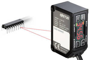 Laser Measurement Sensors come in compact package.