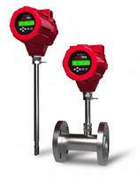 Thermal Dispersion Mass Flow Meter features �0.5% accuracy.