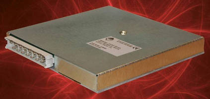 Baseplate-Cooled Power Supply Units deliver 500 W from U format.