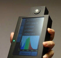 Handheld Spectrophotometer supports multiple measurement types.