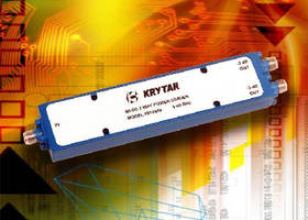 Two-Way Power Divider covers 1.0-40.0 GHz frequecy range.