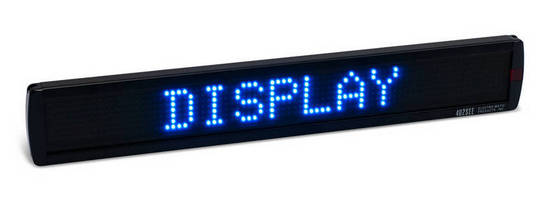 Indoor LED Displays offer Power over Ethernet connection.
