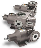 Internal Gear Pumps have seal-less design.