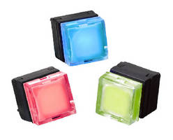 LED Illuminated Pushbutton Switch offers RGB color options.