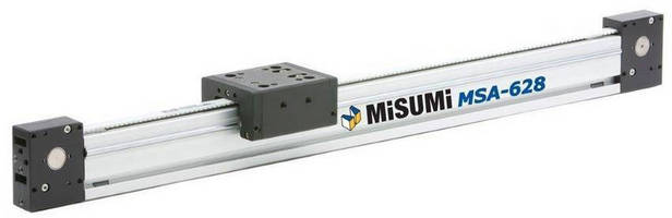 Belt Drive Actuators promote performance, design versatility.