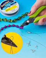Bead Crimper eliminates need for multiple tools.