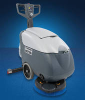 Walk-Behind Automatic Scrubber suits small-area cleaning.