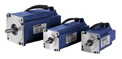 Servomotors bridge gap between stepper and induction motors.