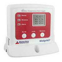Wireless Temperature Data Logger features digital display.