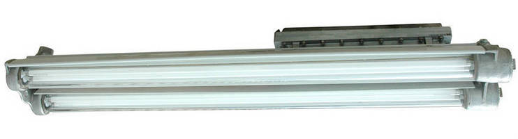 Explosion-Proof Fluorescent Light Fixture produces 20,000 lm.