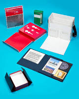 Portfolio Cases  combine promotion, packaging, and storage.