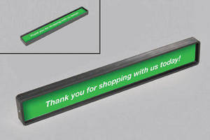 Check-Out Lane Divider ensures exposure to promotions.