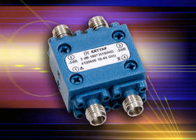 Hybrid Coupler operates from 10-40 GHz.