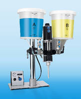 Pneumatic Adhesive Dispenser provides ±1% accuracy.