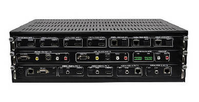 Multi-Format Matrix Switcher extends life of legacy gear.