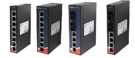 PoE Industrial Ethernet Switches suit high power equipment.