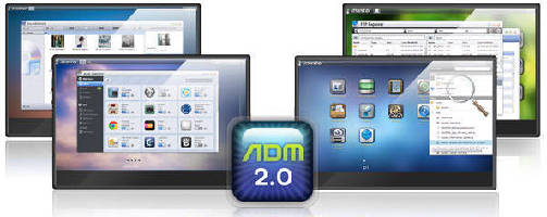 NAS Operating System features optimized user interface.