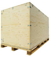 Packaging System protects extra-large products.