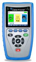Multifunctional Cable Tester offers graphical capabilities.