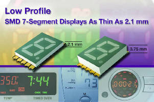 SMD LED Displays feature low profiles down to 2.1 mm.